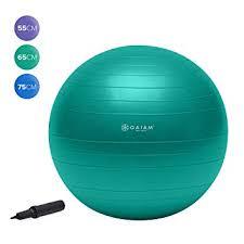Gaiam Womens Eco Total Body Balance Ball Kit Amazon Co Uk