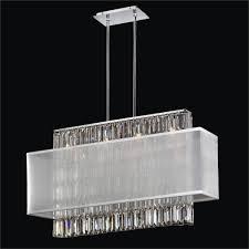 furniture surprising rectangular crystal chandeliers 14 dangelo
