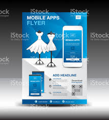 website advertisement template mobile apps flyer template for boutique shop business brochure flyer