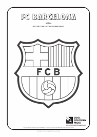 Cool Coloring Pages Others Fc Barcelona Logo Coloring Page