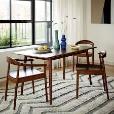 mid century modern dining table. Captivating Mid Century Modern Dining Room Sets With Expandable Table West Elm D