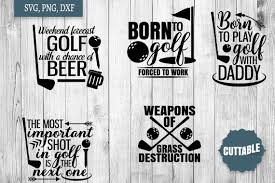 Svg can be used with: Golf Svg Bundle Golfer Quote Cut Files Golf Quote Svgs 216058 Svgs Design Bundles