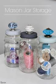 Decorative Jars Ideas DIY Jars With Decorative Knobs For Storage Darice Decorative 37