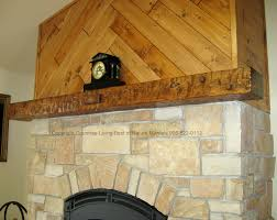 rustic fireplace mantels home design