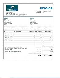 Sales Receipt Sample Free Download Invoice Template Word Online
