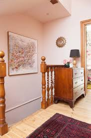 The Pink House hallway is now pink