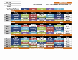 insanity hybrid schedule fresh body beast workout sheet unique home dumbbell workout plan lovely jpg 1650x1275