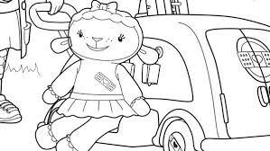 Small Picture Doc Mcstuffins Coloring Page Corresponsablesco