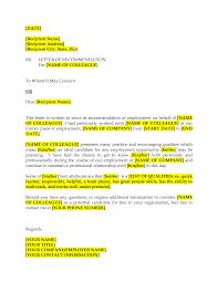 recommendation letter for co employee best online resume builder recommendation letter for co employee sample recommendation letters for employment 12 sample recommendation letter for former