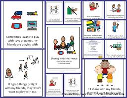 Social Story for Sharing: This illustrated story for elementary-aged ...