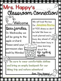 Weekly Parent Letter Template Templates For Parent Newsletter 9