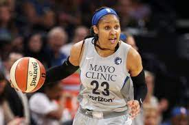 with Maya Moore and the Lynx ...