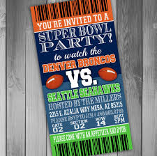 Super Bowl Party Invitations For Your Extraordinary Party Invitation