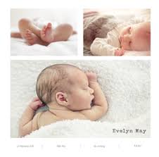 Birth Announcement Cards Photobox