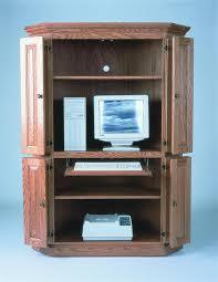 colored corner desk armoire. Corner Computer Armoire Desk Cabinet Small Colored