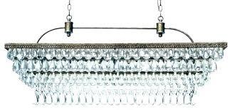 crystal drop chandelier antique black 5 light crystal drop chandelier rectangular glass