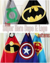 Childs Cape Pattern Extraordinary FREE Superhero Cape Pattern Vanilla Joy