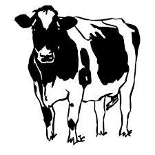 Coloriage Vache Les Beaux Dessins De Imprimer Et Colorier
