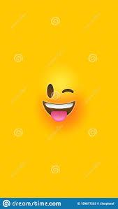 Fun Wink Yellow 3d Smiley Face Vertical ...