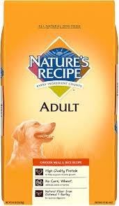 nature s recipe en meal rice recipe dry dog food