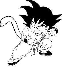 Disegno Di Goku Bambino