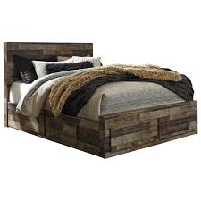 modern queen bed with storage rustic modern queen storage bed with 6 drawers boulevard home furnishings