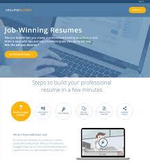 Free Resume Builder Site Wondrous Design Ideas Best Resume Builders
