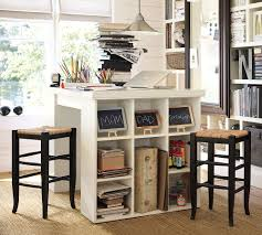 Pottery Barn Bedford Project Table Set Copy Cat Chic For Craft Desk Costco  With Regard To Motivate