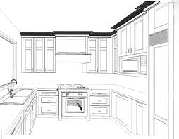 Kitchen Cabinet Design Template Kitchen Small Cabinets Drawing Home Design Ideas Cabinet