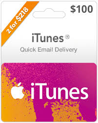 100 itunes gift card delivery