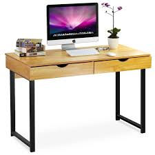 furniture for computers at home. Home Dark Wood Computer DeskF L Furniture For Computers At