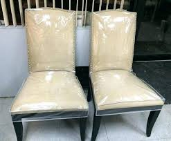 kitchen chair seat covers. Clear Plastic Dining Room Chair Covers Kitchen Chairs Seat