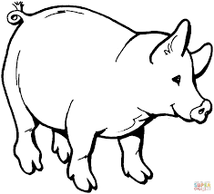 Small Picture Coloring Pages Kids Animal Farm Coloring Pages Farm Animal