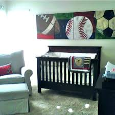 baby sports nursery ideas decor sport boy themed shower crib bedding or sets