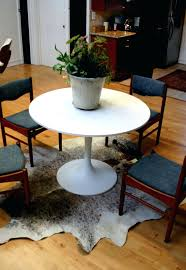 rug for dining table foot round area rugs 3 ft modern room cowhide under