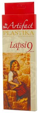 Полимерная глина <b>Artifact LAPSI</b> 9 классических цветов (7109-8 ...
