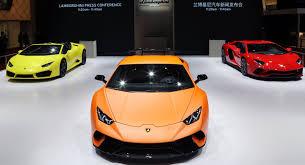 2018 lamborghini huracan performante white. Perfect Performante Lamborghini Huracan Performante U0026 Aventador S Mark Their Asian Debuts In  Shanghai And 2018 Lamborghini Huracan Performante White