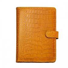 ipad mini case with stand embossed crocodile leather