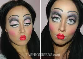 creepy doll makeup tutorial for