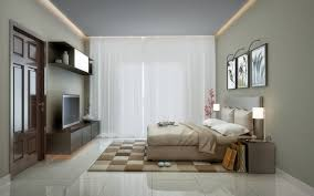modern bedroom false ceiling pop
