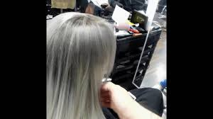 Alfaparf Milano Evolution Of The Color Chart Grey And Silver Ombre Hair Tutorial Alfaparf Colours And Pigments
