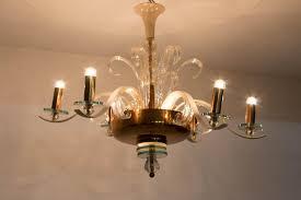 image of new murano glass chandelier replica