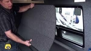 get away rv custom van window coverings you
