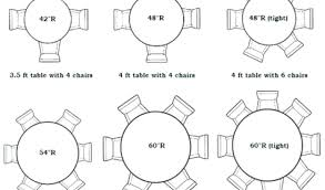 6 foot round table modern seating capacity designs within 5 with idea 14