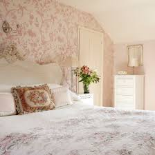 Pink Bedroom With Floral Theme