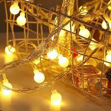 Đèn Led Trang Trí Không Dây Xài Pin AA - Đèn Cherry Ball Dài 3M 20 Bóng  Tròn - Bóng đèn