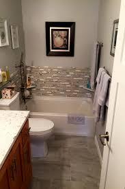 bathroom remodel project plan. Half-Bath-Remodeled-with-Tiling Bathroom Remodel Project Plan L
