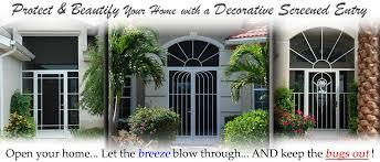 front door screensFront Entry Doors Panama City Fl Screen Doors  PCA Products