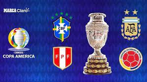 The Copa America semi-finals ...