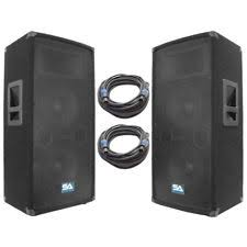 concert speakers system. pair of dual 10\ concert speakers system 2
